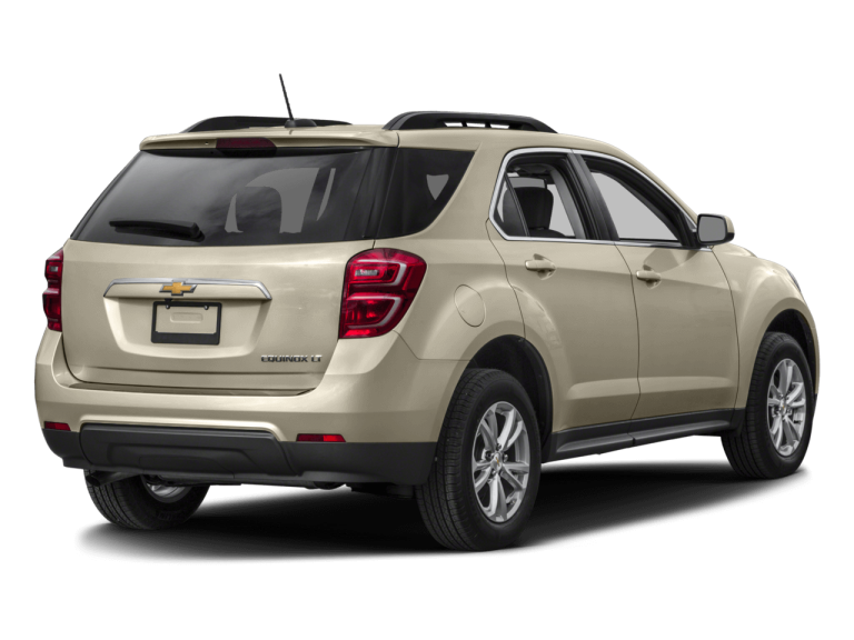 Gold Chevrolet Equinox - Rear View | Carsure