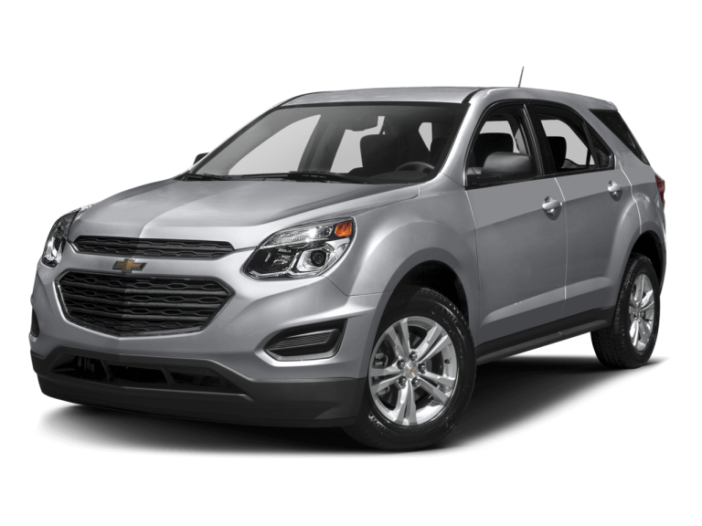 Silver Chevrolet Equinox - Front View | Carsure