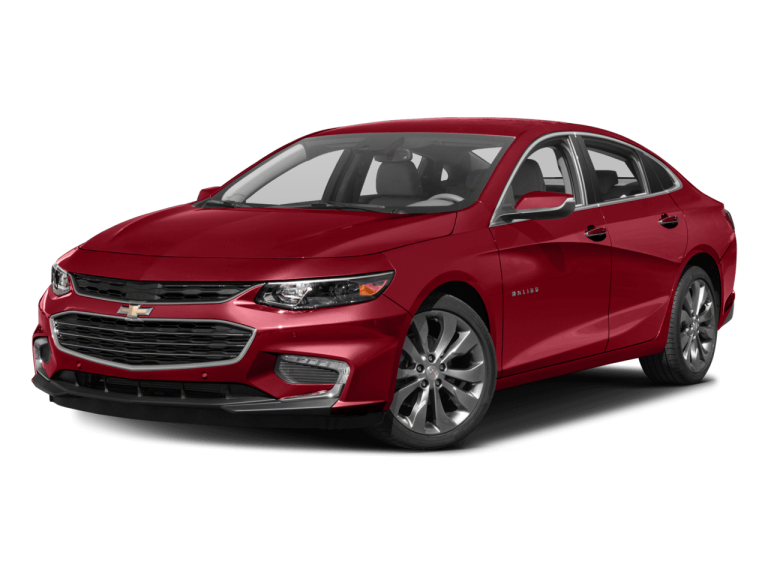 Red Chevrolet Malibu - Front View | Carsure