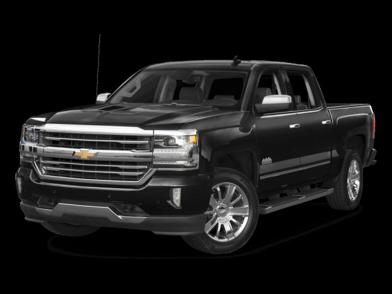Black Chevrolet Silverado - Front View | Carsure