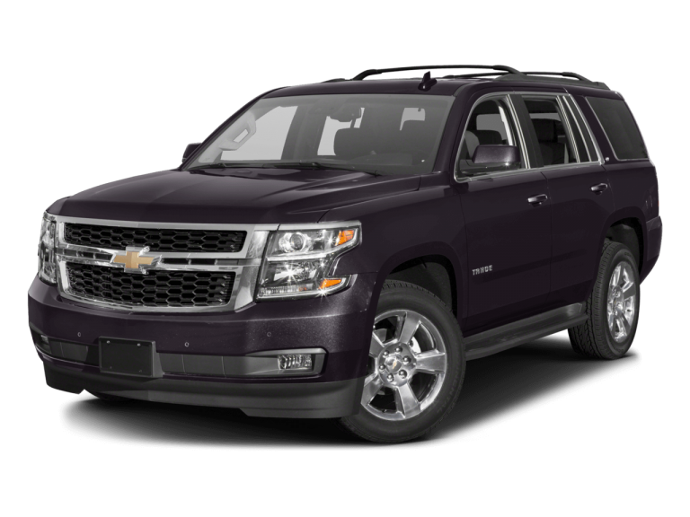 Black Chevrolet Tahoe - Front View | Carsure