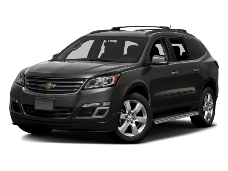 Gray Chevrolet Traverse - Front View | Carsure