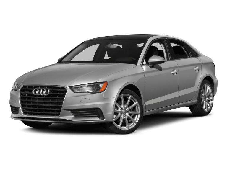 Silver Audi A3 - Front View | Carsure