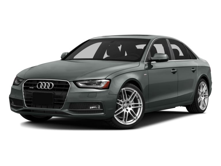 Gray Audi A4 - Front View | Carsure