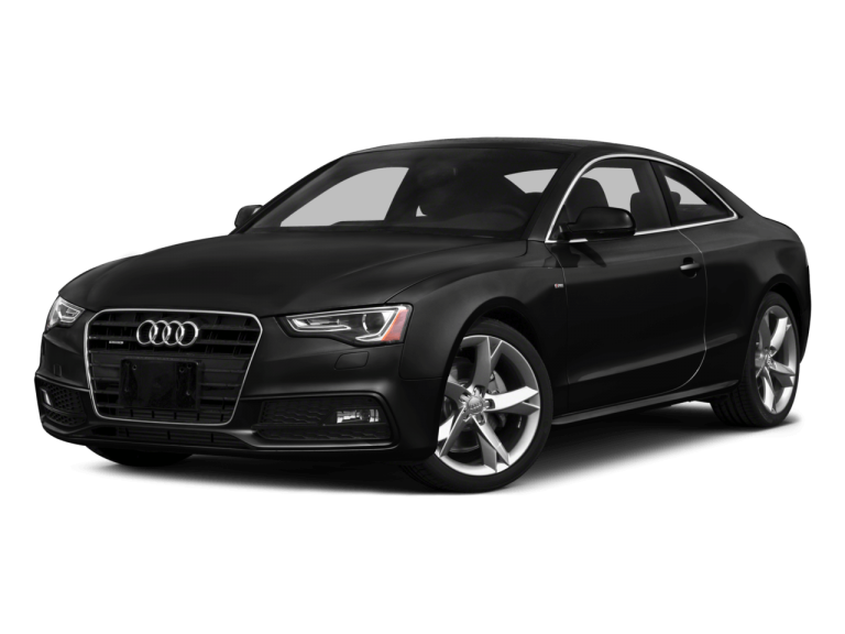 Black Audi A5 - Front View | Carsure