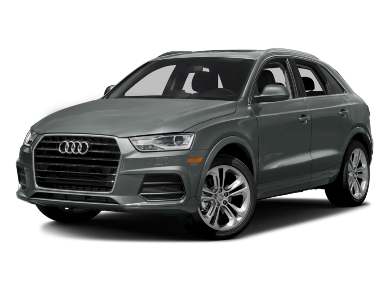 Gray Audi Q3 - Front View | Carsure
