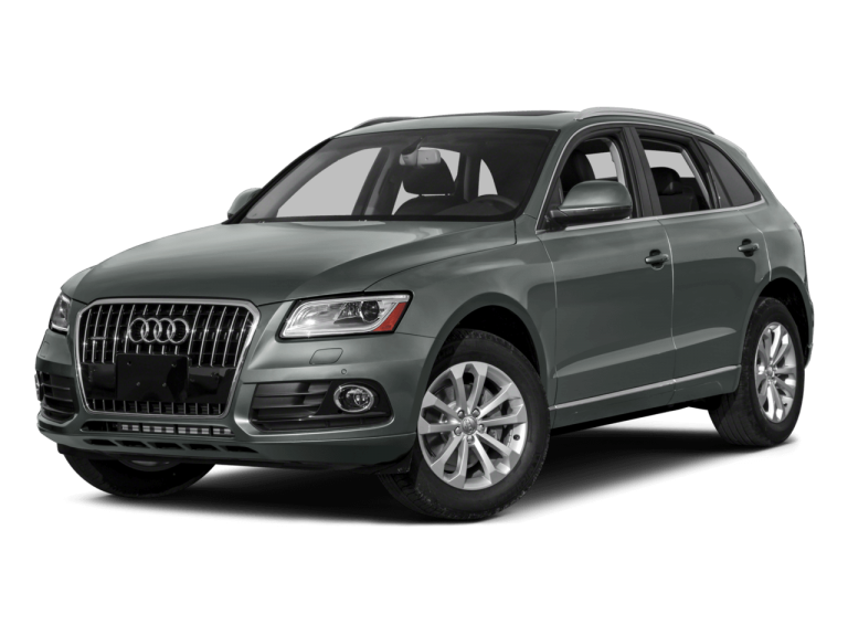 Gray Audi Q5 - Front View | Carsure