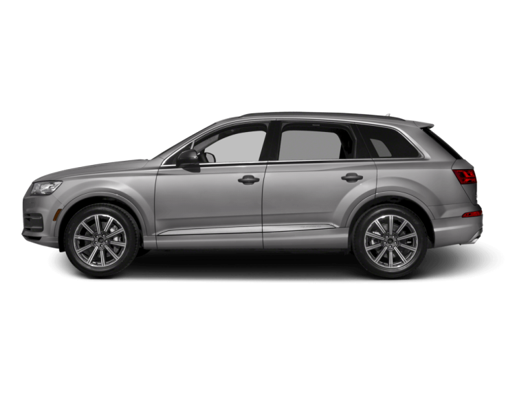 Silver Audi Q7 - Side View | Carsure