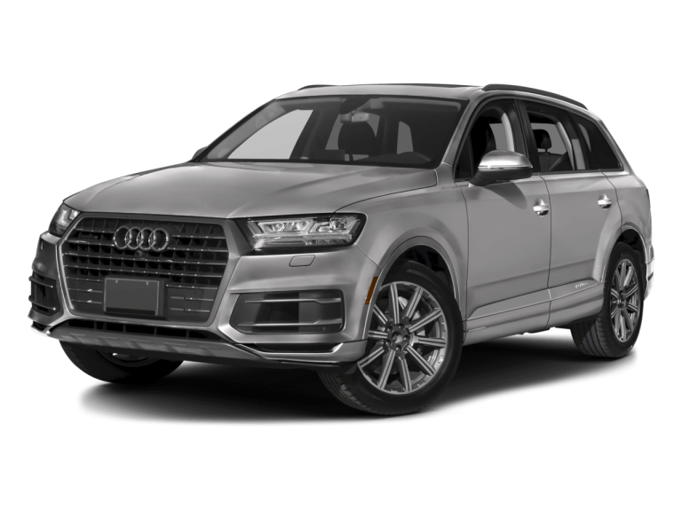 Silver Audi Q7 - Front View | Carsure