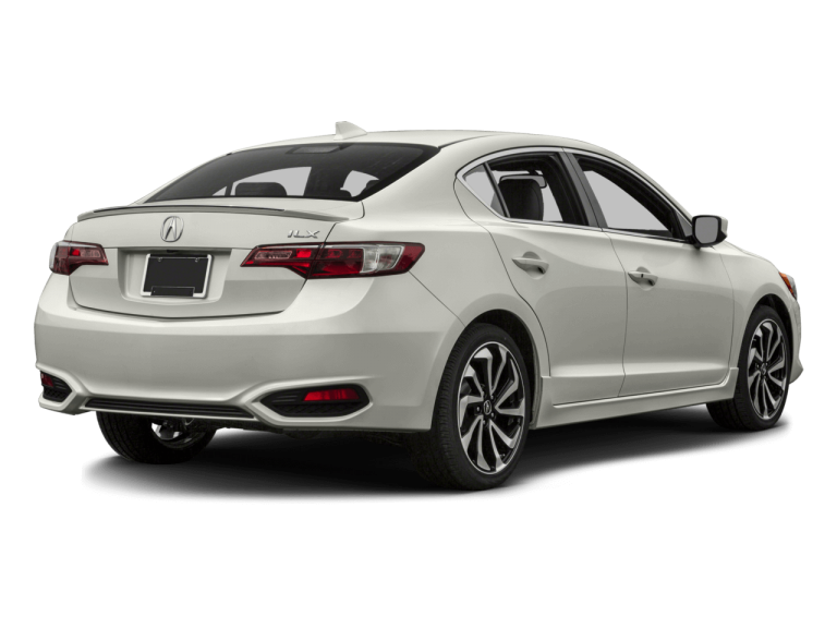 White Acura ILX - Rear View | Carsure