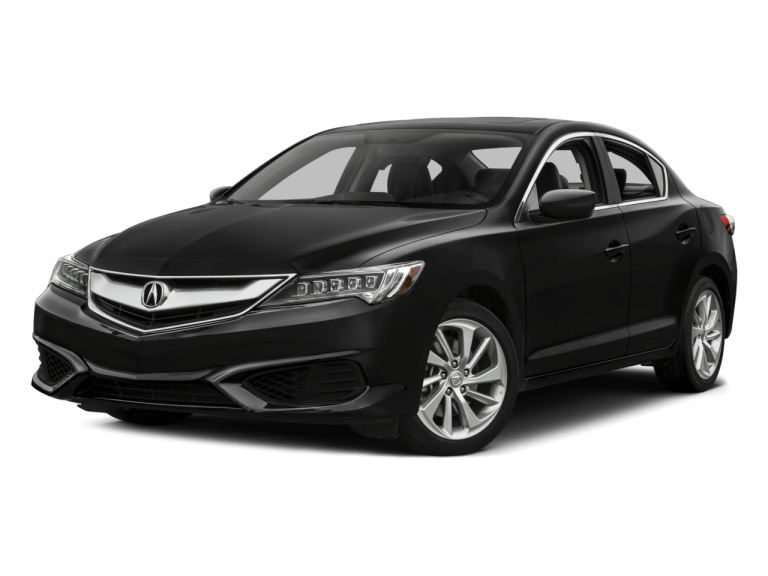 Black Acura ILX - Front View | Carsure
