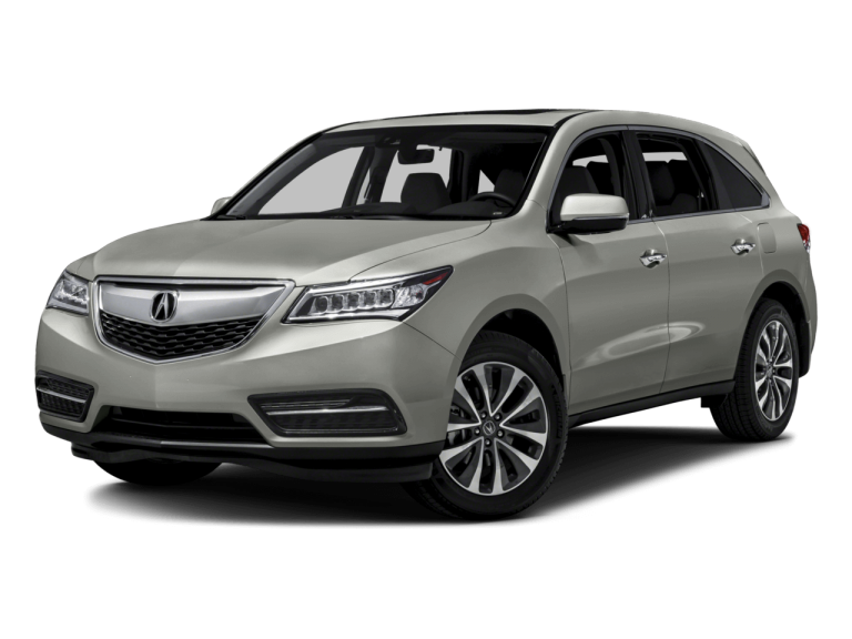 Gold Acura MDX - Front View | Carsure