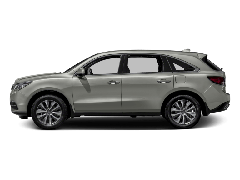 Gold Acura MDX - Side View | Carsure