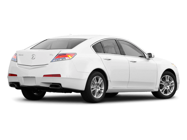 White Acura TL - Rear View | Carsure