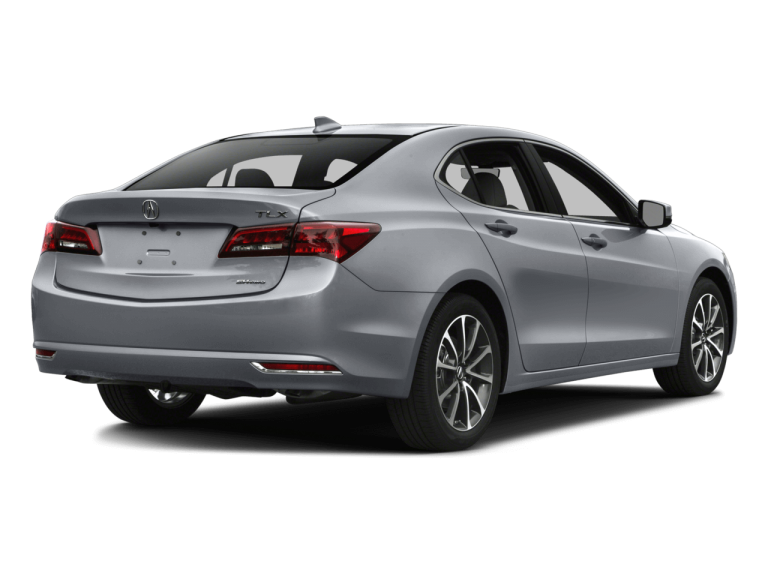 Silver Acura TLX - Rear View | Carsure