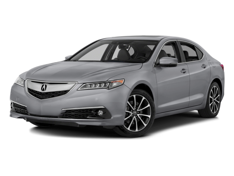 Silver Acura TLX - Front View   Carsure