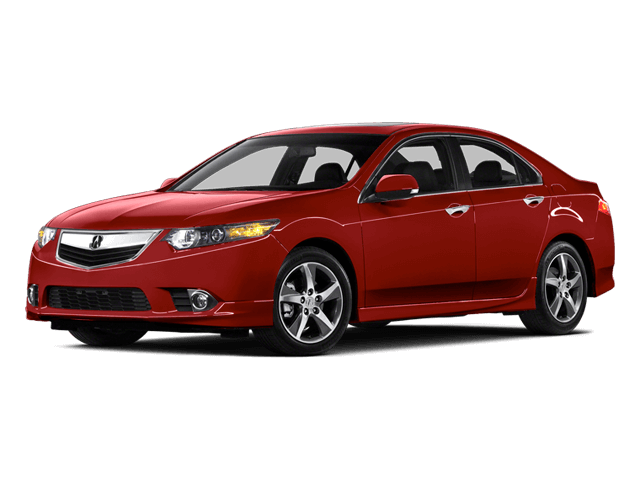 Red Acura TSX - Side View   Carsure