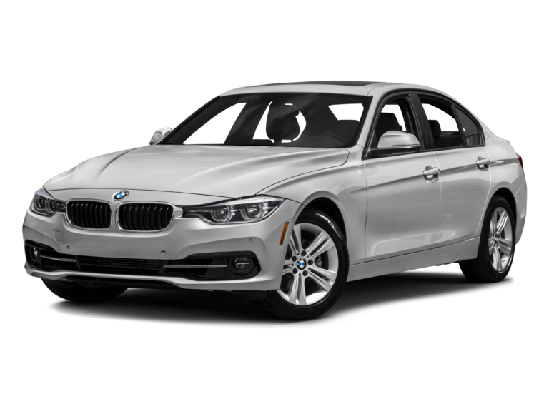 Silver BMW 3Series - Front View | Carsure