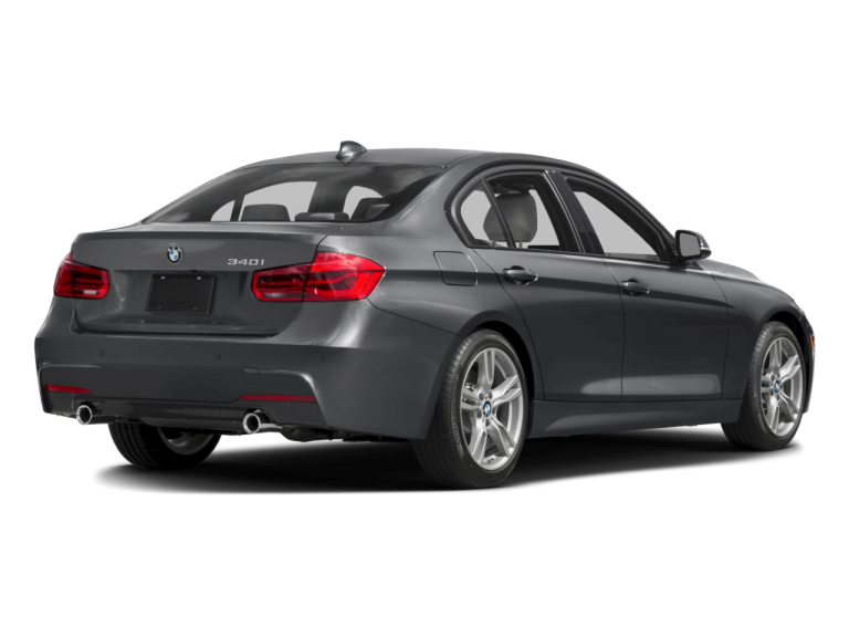 Gray BMW 3Series - Rear View | Carsure