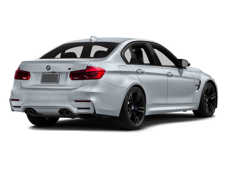 Silver BMW M3 - Front View | Carsure