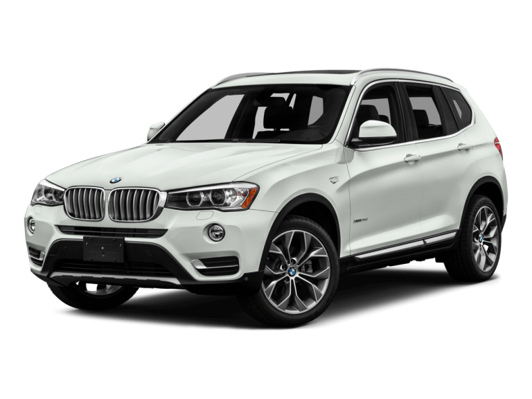 White BMW X3 - Front View | Carsure