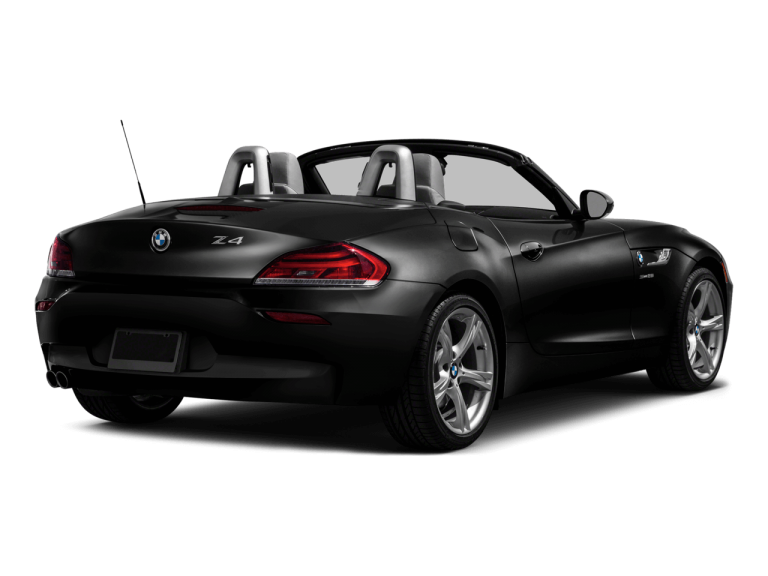 Black BMW Z4 - Rear View | Carsure