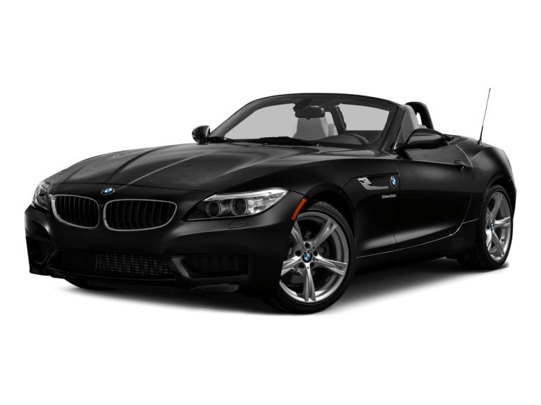 Black BMW Z4 - Front View | Carsure
