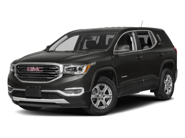 Black GMC Acadia - Front View | Carsure