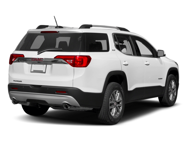 White GMC Acadia - Rear View | Carsure