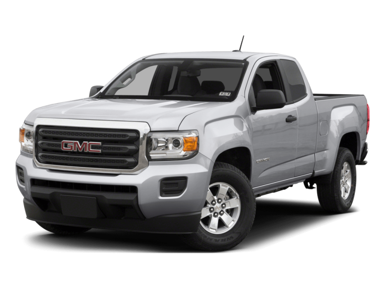 Silver GMC Canyon - Front View | Carsure