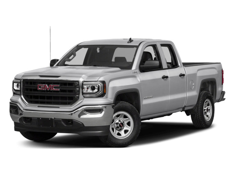 Silver GMC Sierra - Front View | Carsure