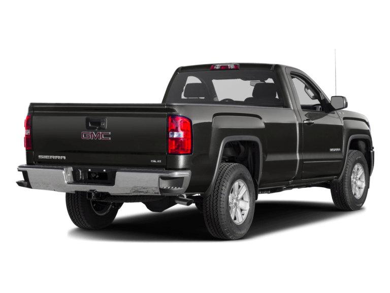 Gray GMC Sierra - Rear View | Carsure