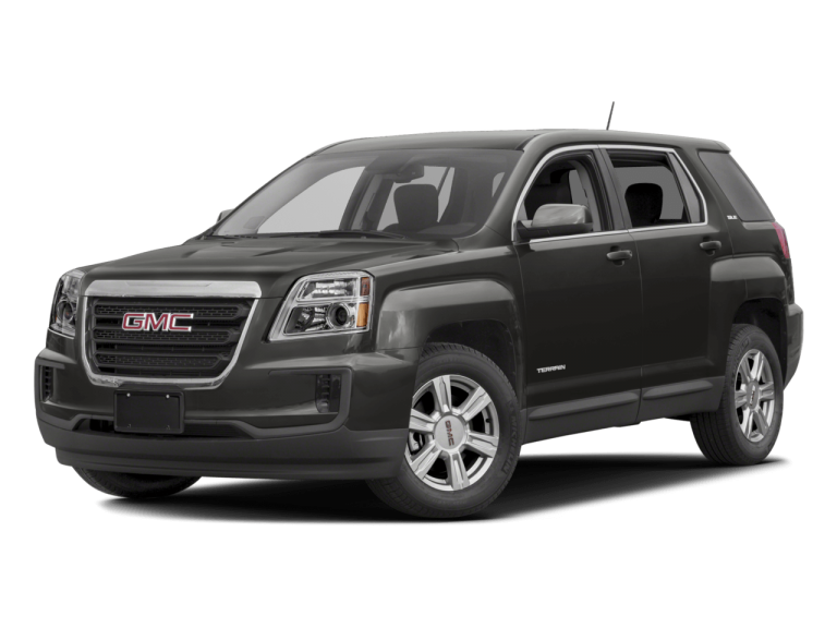 Black GMC Terrain - Front View | Carsure