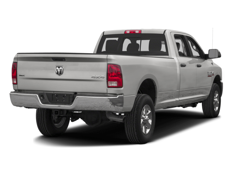 Silver RAM 3500 - Rear View | Carsure