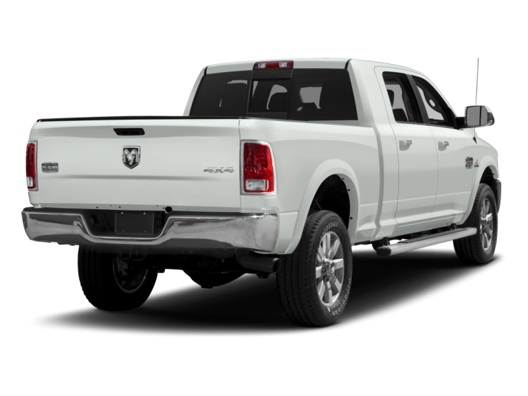 White RAM 2500 - Rear View | Carsure