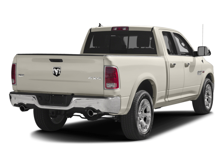 Cream RAM 1500 - Rear View | Carsure