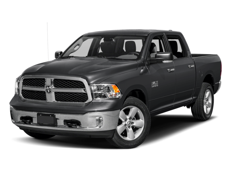 Black RAM 1500 - Front View | Carsure